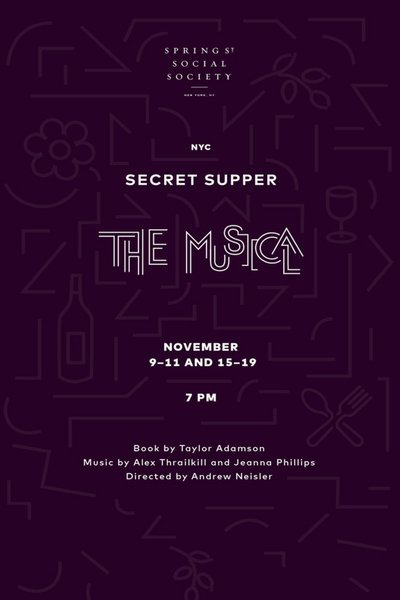 Secret Supper: The Musical