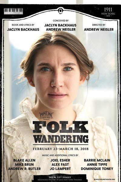 Medium folk poster a web