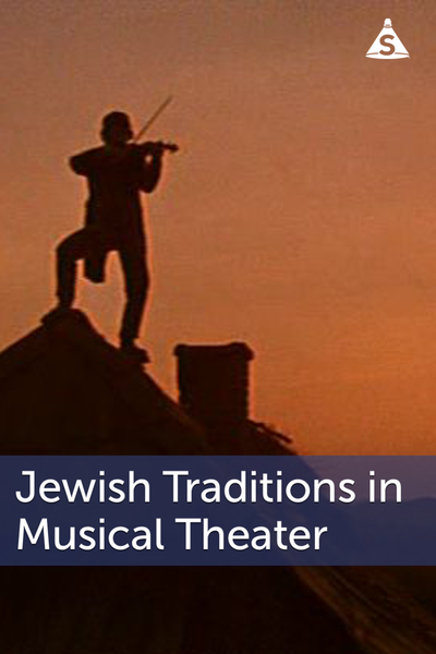 Medium salon poster jewish traditions in musical theater