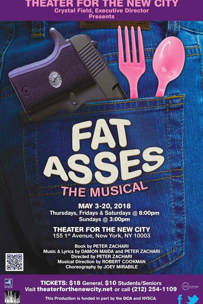 Medium fat asses poster tnc