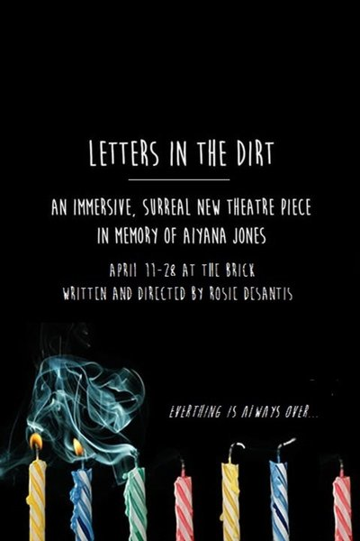 Letters In The Dirt