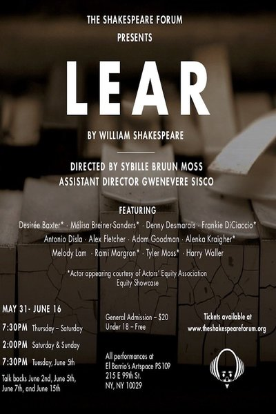 King Lear (The Shakespeare Forum)