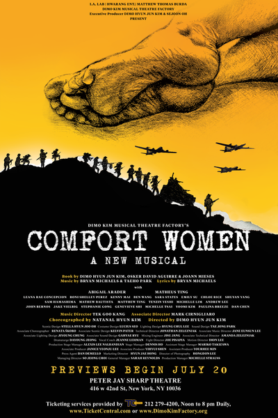 Comfort Women (Dimo Kim Musical Theatre Factory)