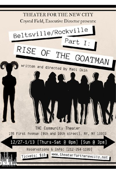 Beltsville/Rockville Part 1: Rise of the Goatman