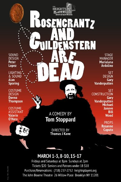Rosencrantz & Guildenstern are Dead (The Heights Players)