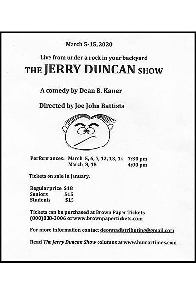 The Jerry Duncan Show