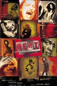 Preview rent theater poster