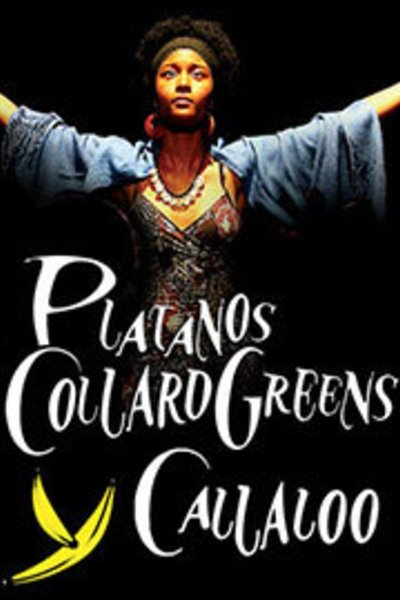 Medium platanos collard greens y callaloo
