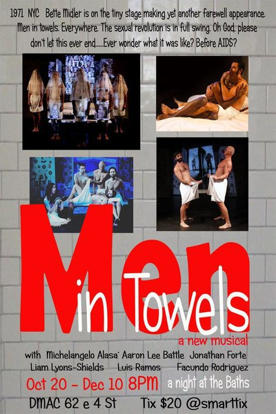 Men in Towels