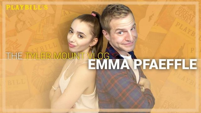 Charlie and the Chocolate Factory's Emma Pfaeffle |The Tyler Mount Vlog - Charlie and The Chocolate Factory