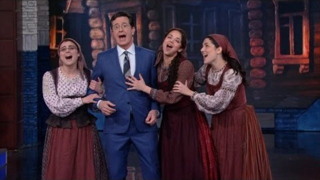 'Fiddler' Performs on The Late Show with Stephen Colbert - Fiddler On The Roof