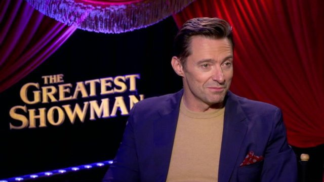 Why Hugh Jackman Hated His Own Voice Until The Greatest Showman - The Greatest Showman Promo Page (JQDA22)