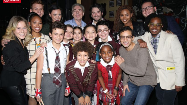 'School Of Rock' Cast Members Hung Out With Their Broadway Mini-Mes - School of Rock - The Musical