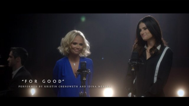 #OutOfOz: For Good | WICKED Studio Sessions Performed by Kristin Chenoweth and Idina Menzel - Wicked