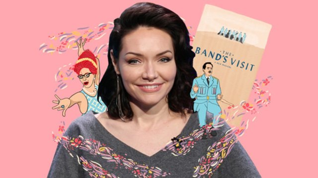 Octopus Obsession, Feeling Moxy and More Things We Learned from The Band's Visit Star Katrina Lenk - The Band's Visit