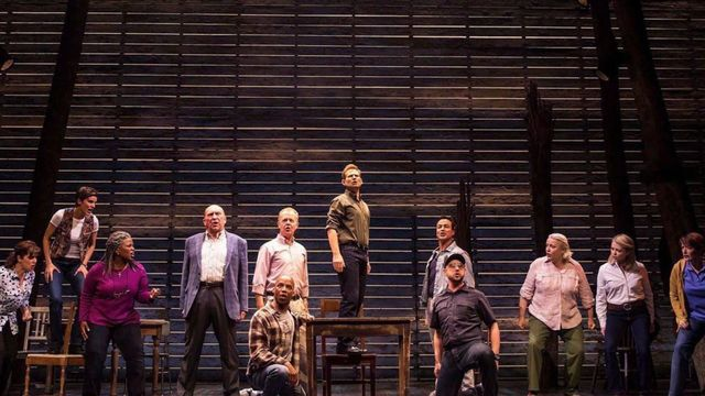 Quick-thinking wardrobe team resolves 'Come From Away' trouser trouble - Come From Away (NYC)