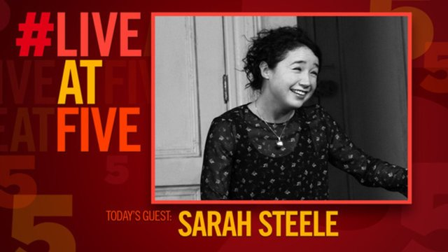 VIDEO #LiveatFive with Sarah Steele of 'The Humans' - The Humans