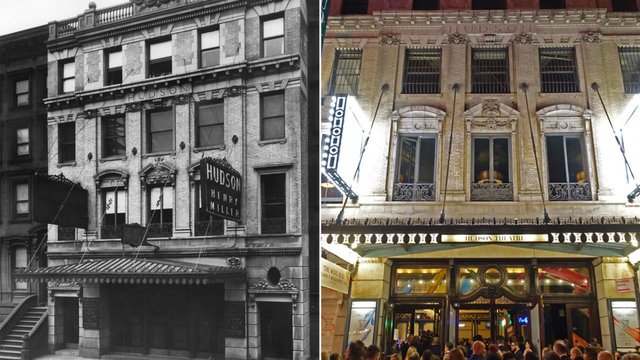 This theater's chaotic history includes a Titanic survivor, the 'Tonight' show and porn - Historic Hudson Theatre Tour