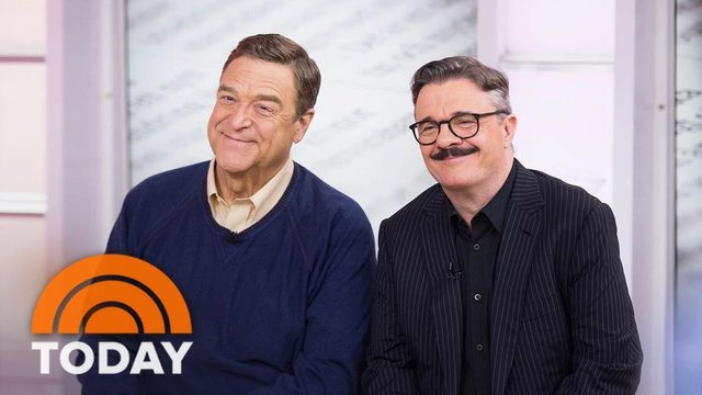 TODAY: Nathan Lane, John Goodman Co-Star In 'Front Page' On Broadway - The Front Page