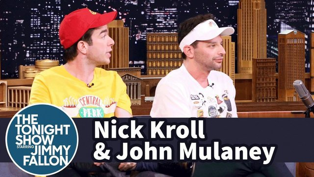 The Tonight Show: Nick Kroll and John Mulaney Describe the Essence of Their Broadway Show - Oh, Hello on Broadway