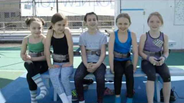 The Matildas Learn How To…Fly Trapeze - Matilda