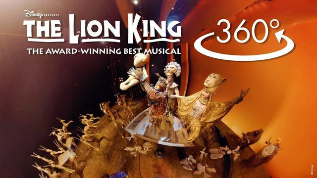'Circle of Life' in 360º - The Lion King (Broadway)