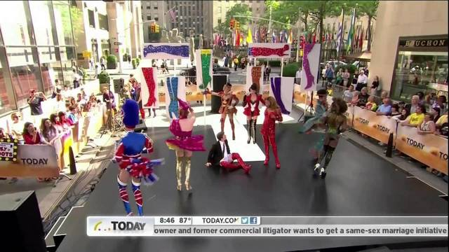 Kinky Boots on THE TODAY SHOW - Kinky Boots