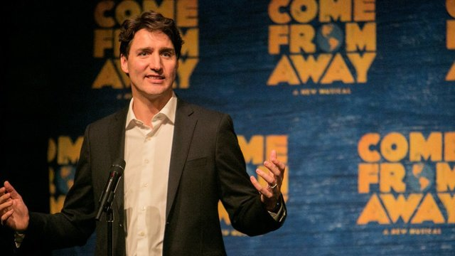 Justin Trudeau Brings Ivanka Trump to Broadway Show on Welcoming Outsiders - Come From Away