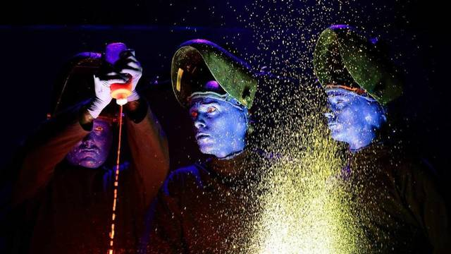 Watch: Blue Man Group Show Off Their Invention Laboratory - Rolling Stone - Blue Man Group
