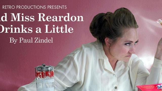 "Heather E. Cunningham, Sara Thigpen, Christopher Borg, and Shay Gines of ""And Miss Reardon Drinks a Little"" 