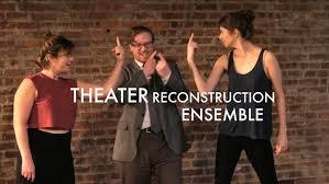 Theater Reconstruction Ensemble: Producer in How to Hamlet, or Hamleting Hamlet
