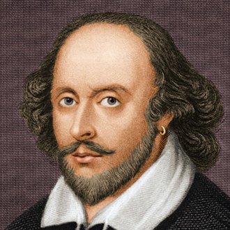 William Shakespeare: Playwright in Hamlet (Waterwell)