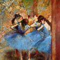 Thumb dancers in blue  1890